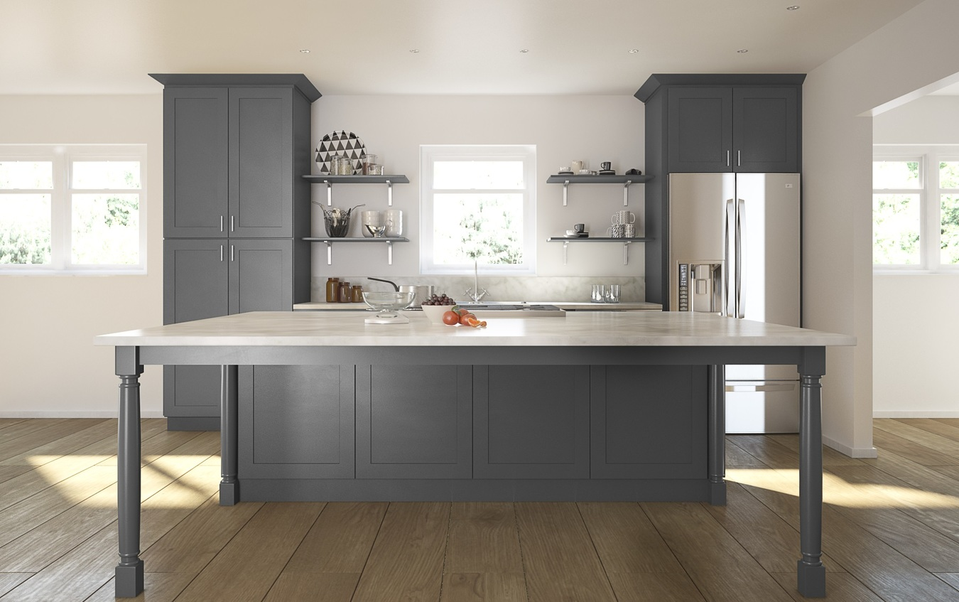 kitchen cabinets in gray shaker gray cabinet connection 20560